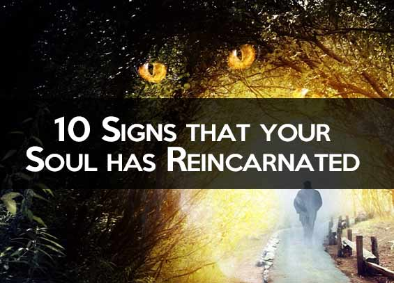 Signs that your Soul has Reincarnated